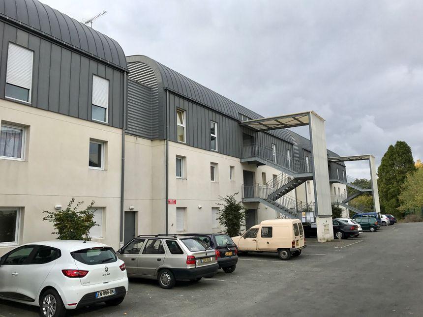 La résidence de 23 logements a été construite en 2005.