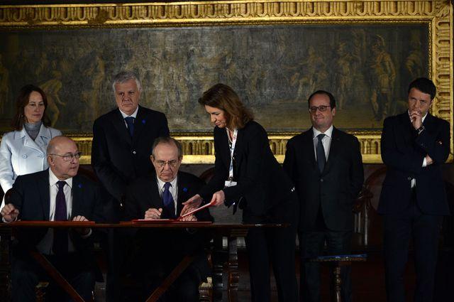Ségolène Royal raconte une scène très gênante causée par les propos de deux ministres français lors d'un sommet franco-italien à Venise.
