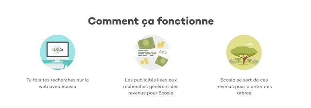 Ecosia, comment ça fonctionne ?
