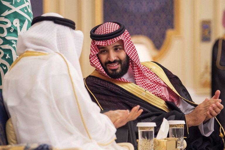 Mohammed ben Salman dans le palais royal
