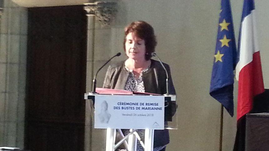 Marie-Pierre Richer, remplaçante du sénateur François Pillet.