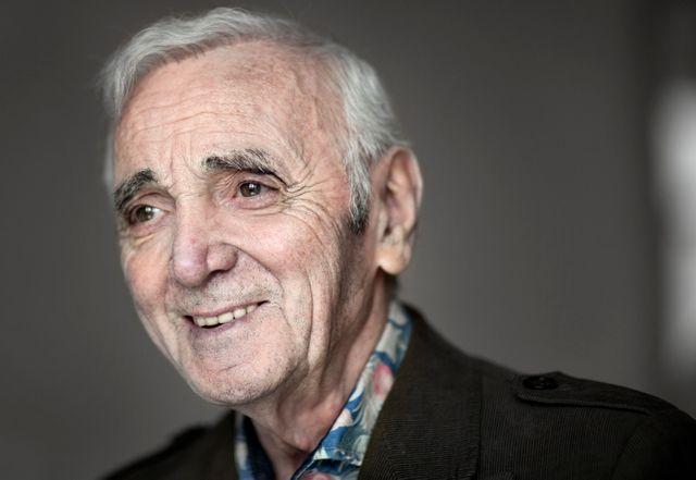 Charles Aznavour / Espagne, avril 2015