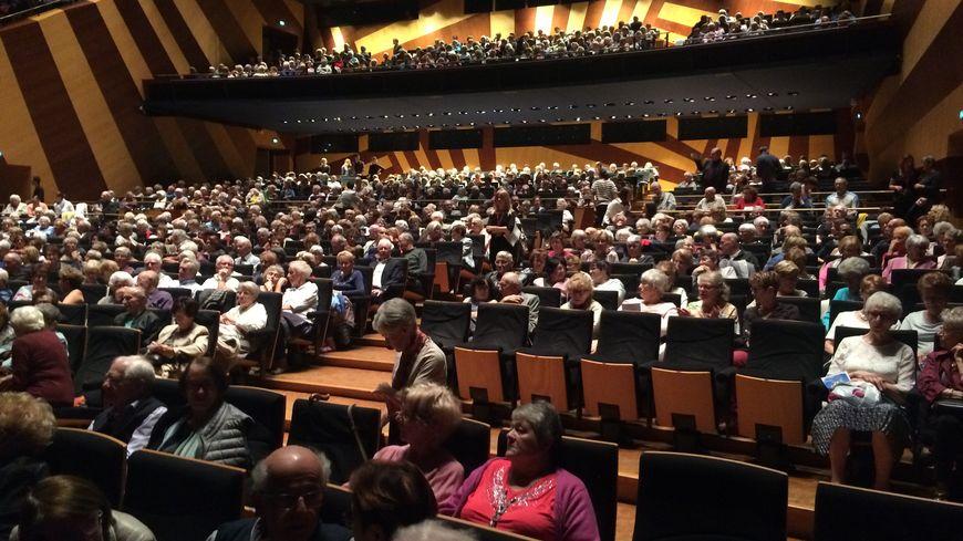 Plus de 2600 personnes étaient présentes à l'Auditorium de Dijon.