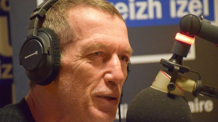 Christophe Miossec, invité de la matinale de France Bleu Breizh Izel le 22 octobre