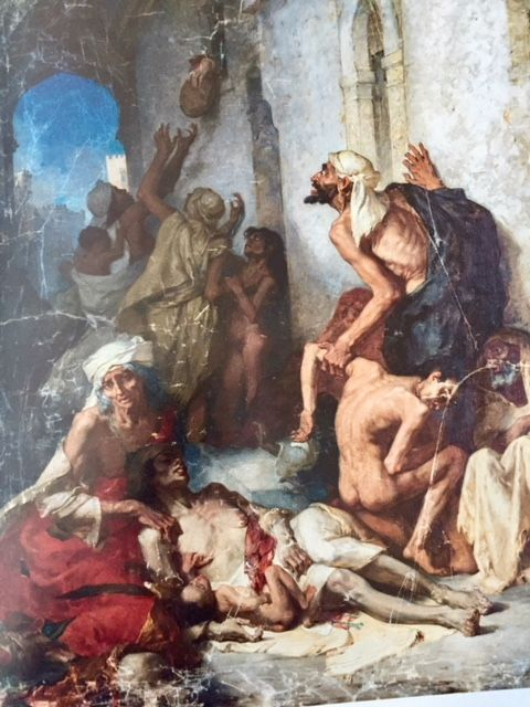""""""" La famine en Algérie """" (1868)"""