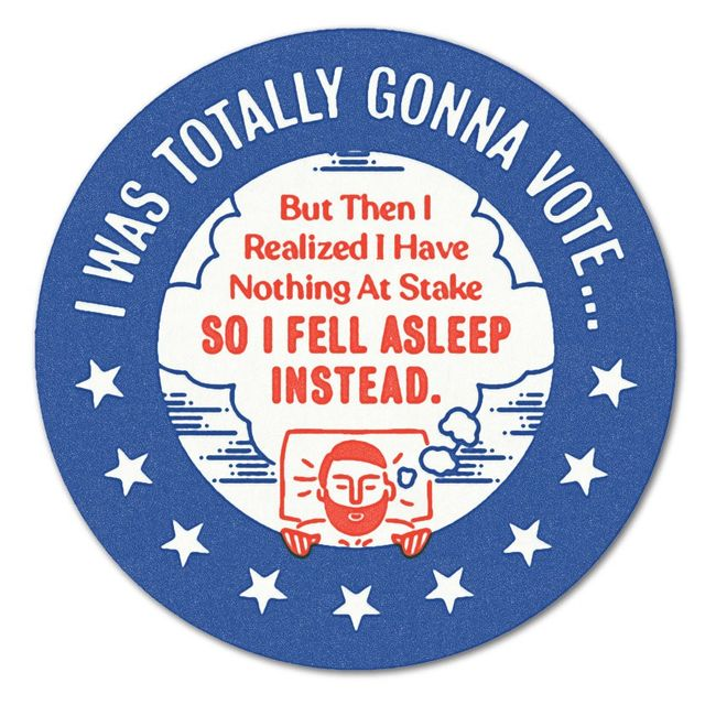 Sticker midterms 2018