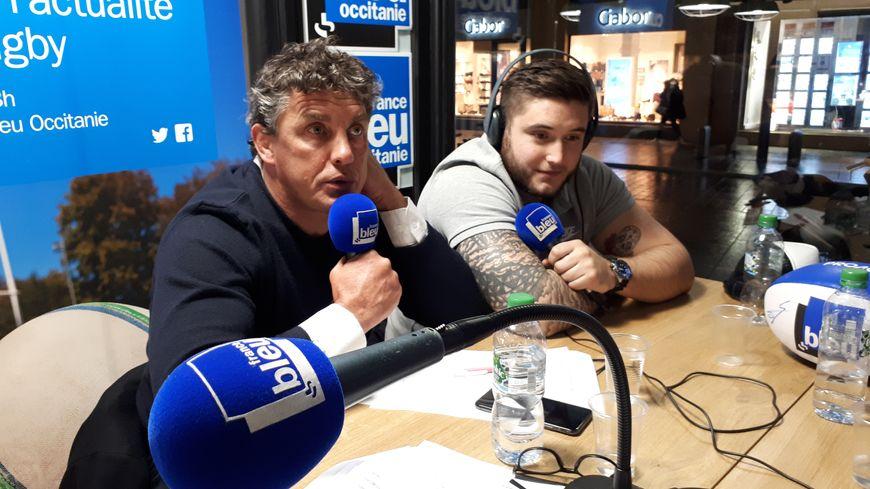 Didier Lacroix et Cyril Baille.