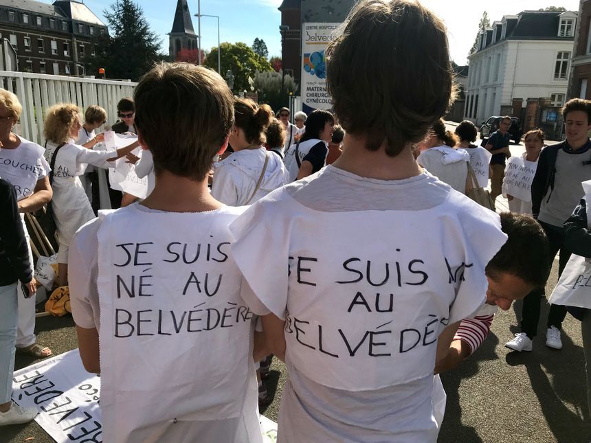 Axel et Jules, 18 et 17 ans, tous les deux nés au Belvédère, ont participé à la manifestation.