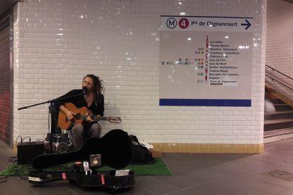"""Scéne """"d'entrainement"""" pour Vanupié avant son concert à l'Elysée Montmartre le samedi 13 octobre"""