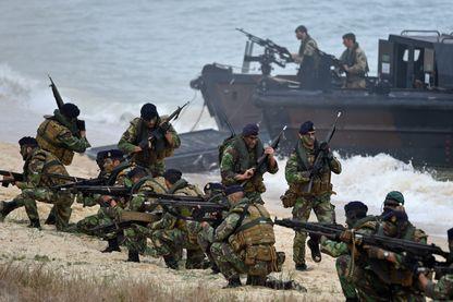 Un précédent exerce militaire de l'Otan, au Portugal (5 novembre 2015)