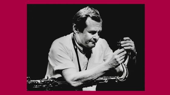 Stan Getz en concert à l'Espace Cardin le 27 novembre 1979