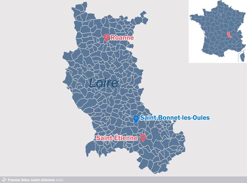 Saint-Bonnet-les-Oules, dans la Loire