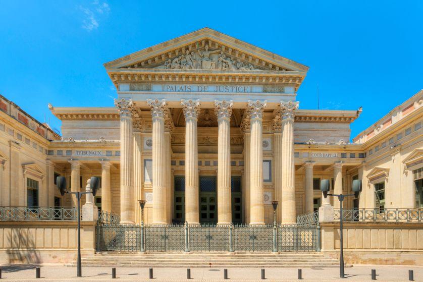 Palais de Justice de Nîmes (Gard)