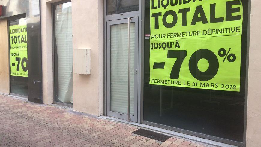 De plus en plus de rideaux baissés dans le centre historique de Bergerac