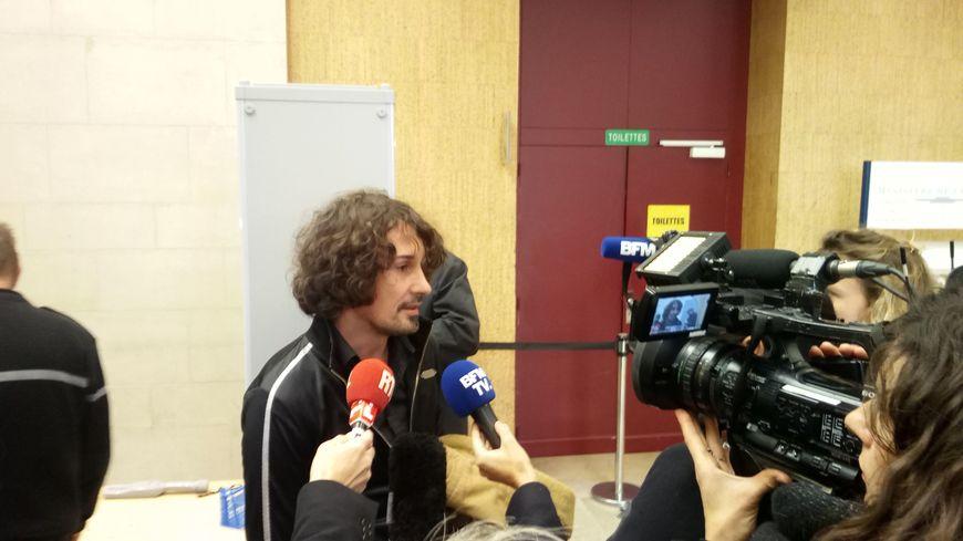Olivier Savignac, l'une des victimes qui a dénoncé les agressions sexuelles du père De Castelet