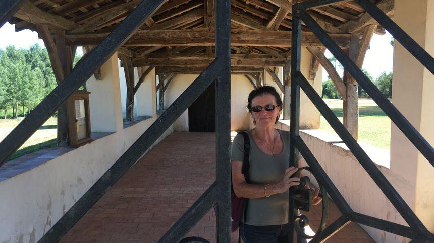 Marie-Hélène Rebours, guide à Suzan, fait visiter la chapelle et ses peintures, un joyau de notre histoire.