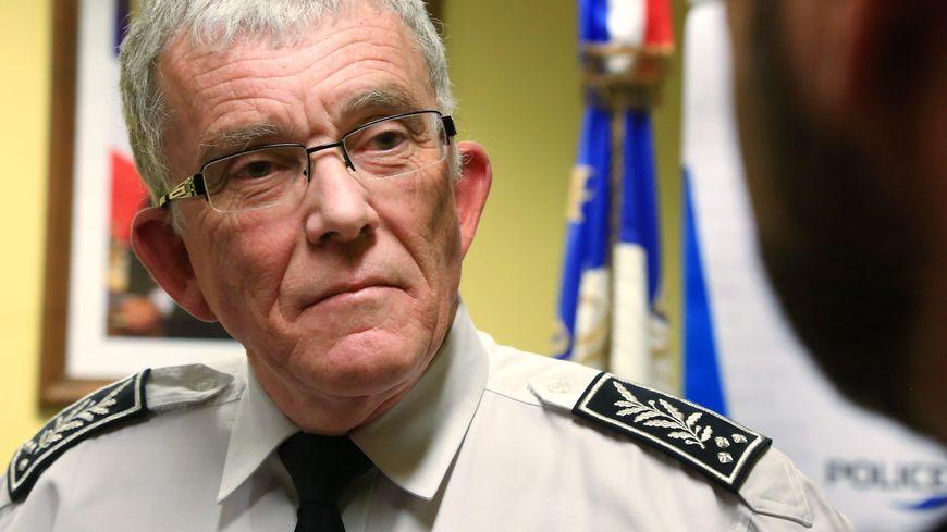 Hervé Niel, le directeur départemental de la police en Moselle