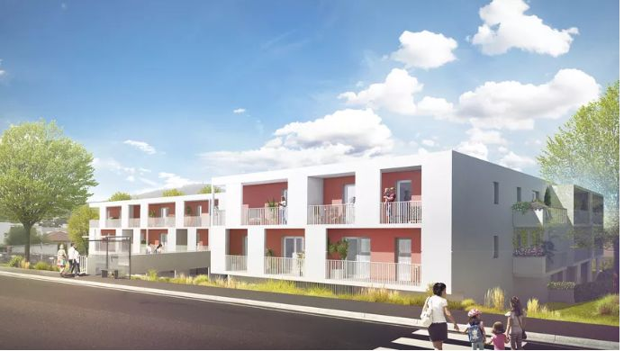 La future résidence LODGES Simone Veil à Romagnat