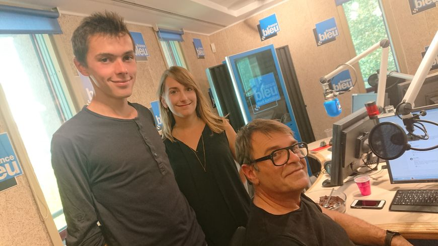 "Florent et Marine de ""la Madeleine"" avec Bruno Ballureau"