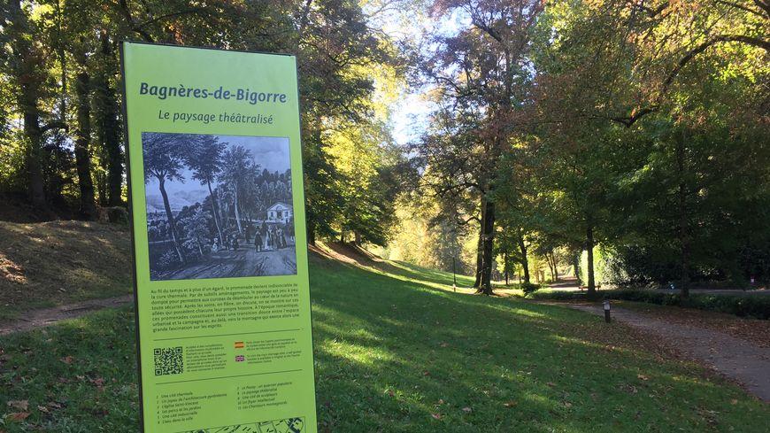 """Parc """"Vallon du Salut"""" à Bagnères-de-Bigorre (Hautes-Pyrénées)"""