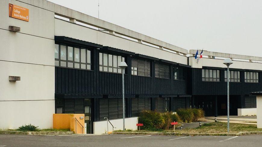 Collège André Malraux du quartier de Surville à  Montereau-Fault-Yonne