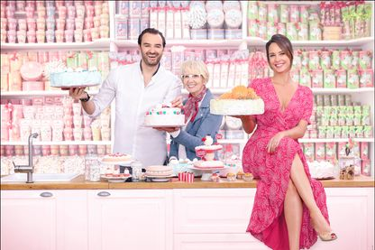 Cyril Lignac, Mercotte et Julia Vignali. A vos marques, prêts, pâtissez !
