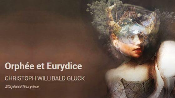 Affiche d'Orphée et Eurydice de Gluck