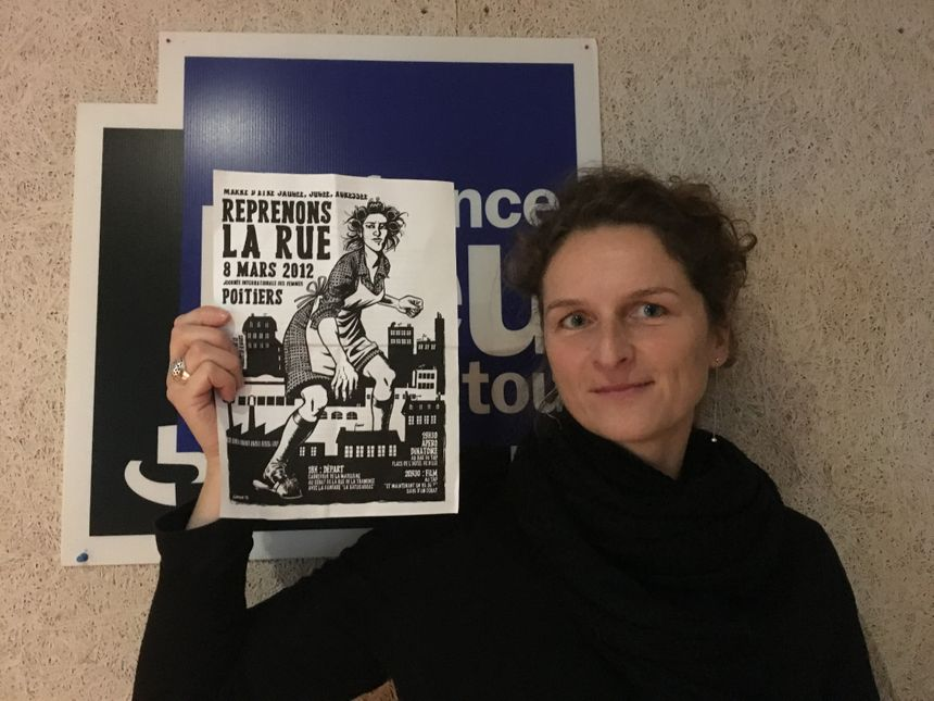 Sophie Le Mô du collectif poitevin du 8 mars