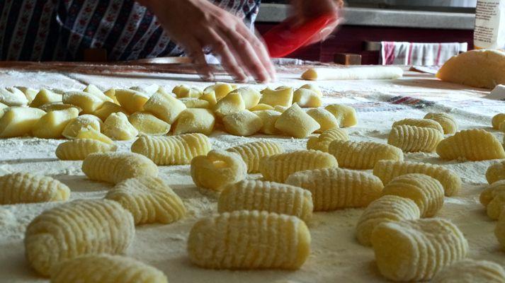 Les Gnocchis en pleine préparation