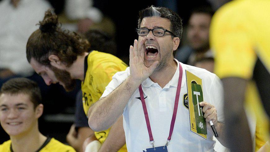 L'entraineur de Chambéry Erick Mathé, ancien adjoint de Patrice Canayer à Montpellier