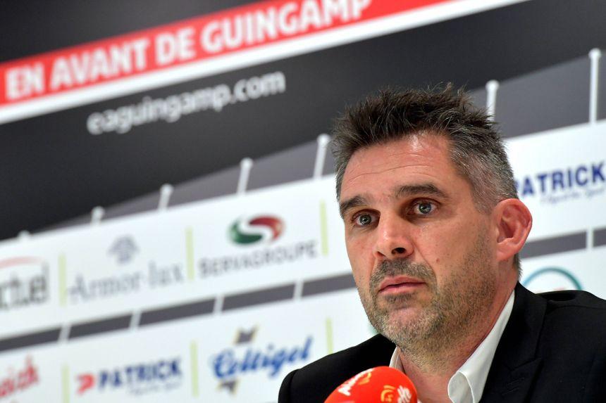 Jocelyn Gourvennec est de retour à Guingamp après un passage à Bordeaux.
