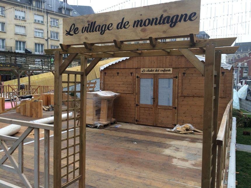Le village de montagne et sa piste de luges accessibles aux petits et aux grands - Radio France