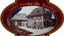 Logo label ferme du Roethig