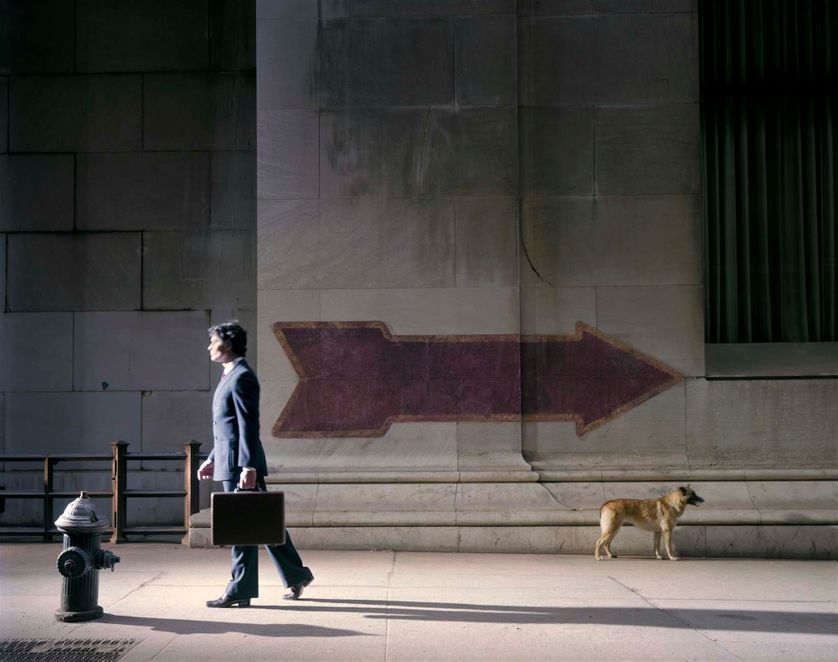 New York City, 1980. (© Joel Meyerowitz / Courtesy Polka Galerie)