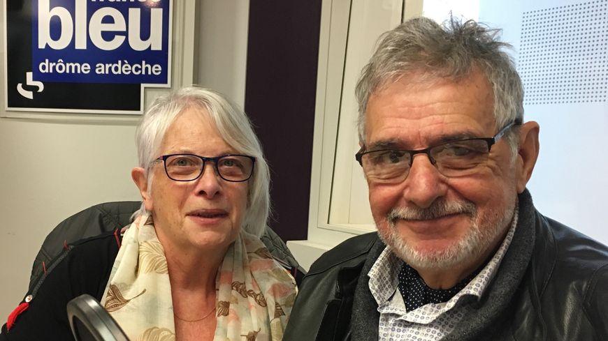 Renée Lidin et Dominique Alphonse