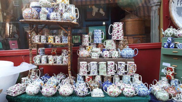 Shopping so british sur Portobello Road