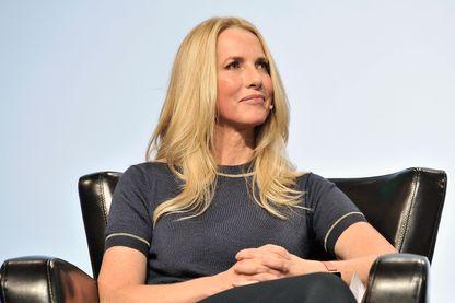 Laurene Powell Jobs, veuve du cofondateur d'Apple Steve Jobs, lors d'un festival dédié aux nouvelles technologies à San Francisco (20 septembre 2017).