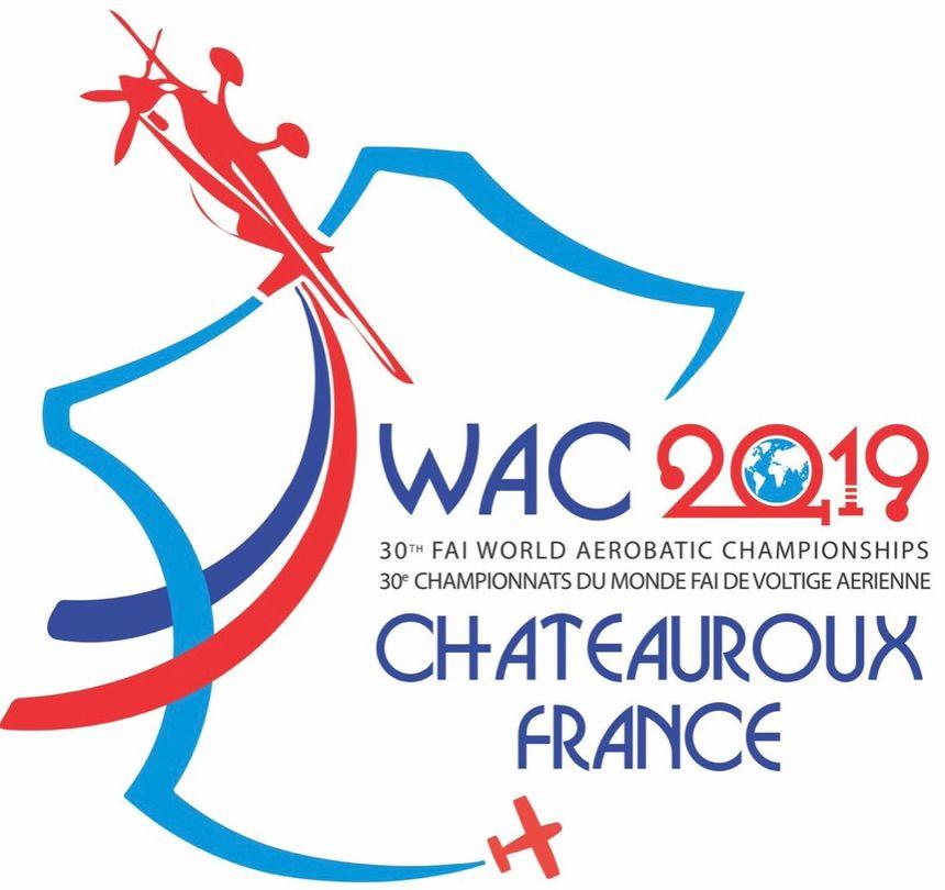 Le logo des championnats du monde 2019 à Châteauroux