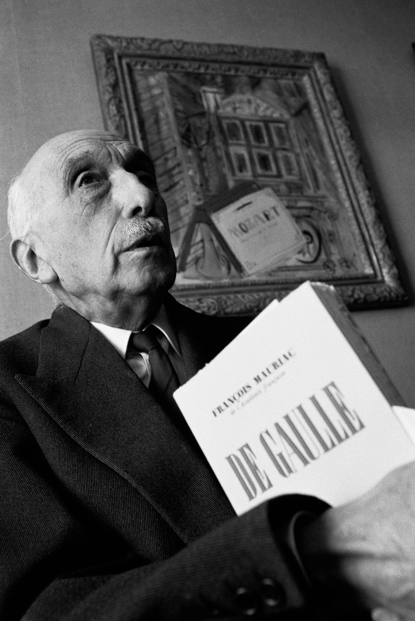 François Mauriac photographié en 1969