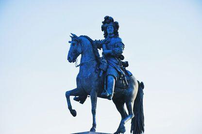 Statue de Louis XIV à Versailles