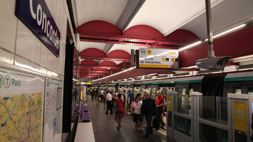 Ligne 1 du métro - Image d'illustration