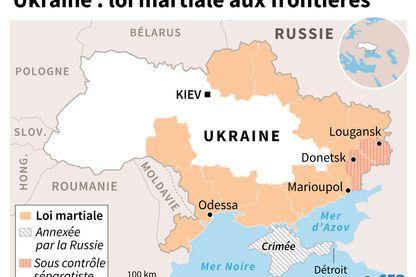 Nouvelle crise entre Kiev et Moscou, l'Ukraine adopte la loi martiale aux frontières