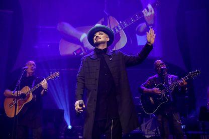Boy George, sur la scène du Gala SeriousFun de Londres (06 novembre 2018)