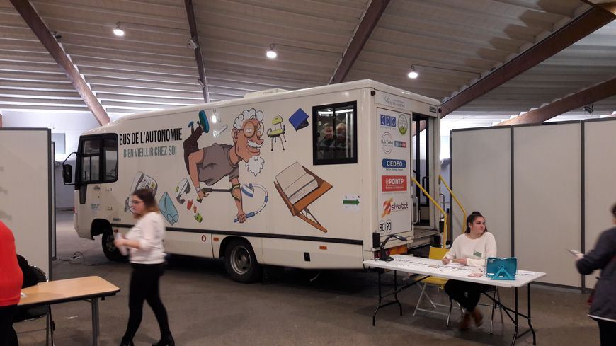 """Le bus de l'autonomie au forum """"santé et bien-être"""" d'Epinal"""