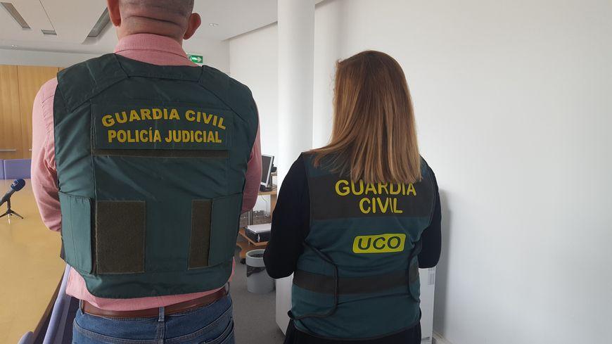 C'est la Guardia Civil qui a mené cette opération