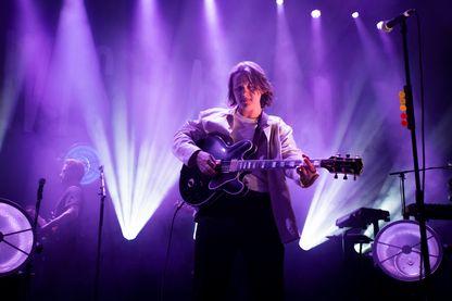 Lewis Capaldi, chanteur écossais de soul, en concert à l'O2 Academy de Leeds, Royaume-Uni (07 novembre 2018)