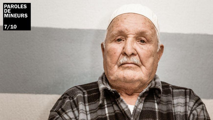 Mohand Tifra, ancien mineur de fond, piqueur de charbon, venu de Kabylie en Algérie