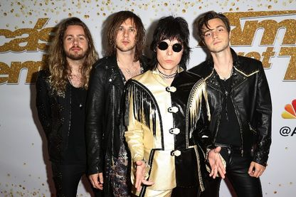 The Struts le 19 septembre 2018 à Hollywood.