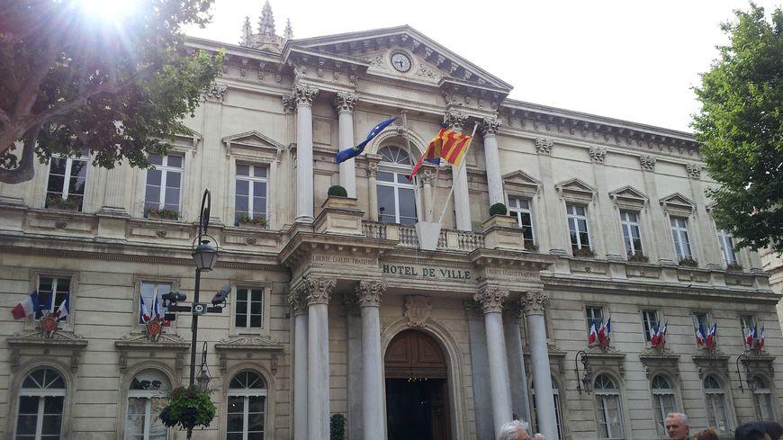 La mairie d'Avignon