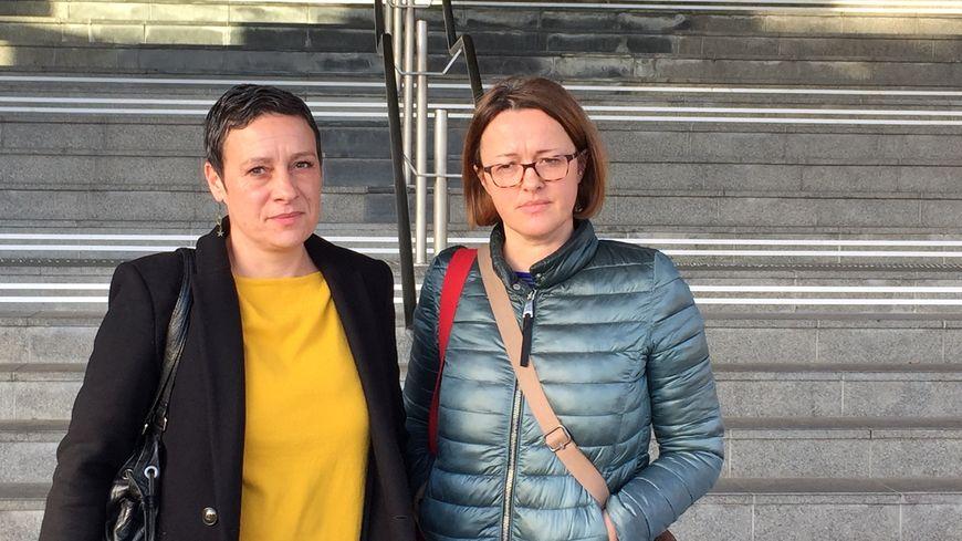 Laetitia Rizzotto et Carole Lecomte de la FCPE ont porté l'affaire devant le tribunal administratif.